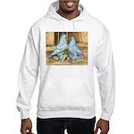 Lavender West Pigeons Hooded Sweatshirt