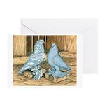 Lavender West Pigeons Greeting Cards (Pk of 10)