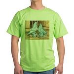 Lavender West Pigeons Green T-Shirt