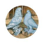"Lavender West Pigeons 3.5"" Button (100 pack)"