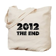 2012 The End Tote Bag