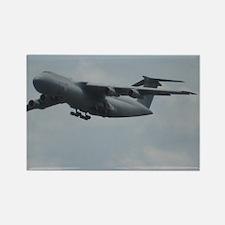 Unique Military plane Rectangle Magnet (10 pack)