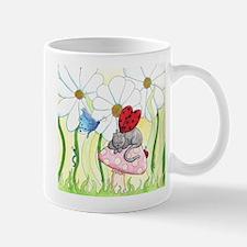 Ladybug Fairy Cat Mug