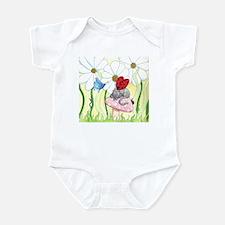 Ladybug Fairy Cat Infant Bodysuit