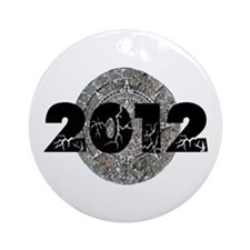2012 Mayan Calendar Ornament (Round)