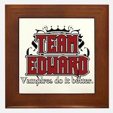 Unique Team edward Framed Tile