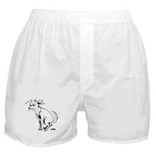 Pooping Puppy Boxer Shorts