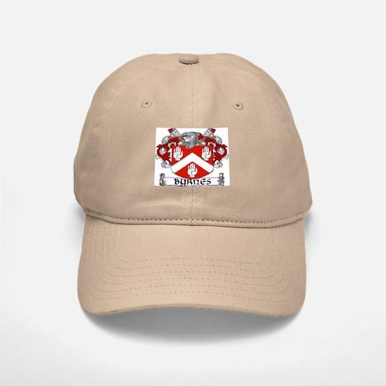 Byrnes Coat of Arms Baseball Baseball Cap