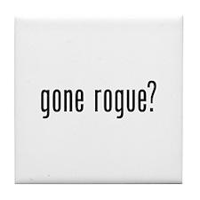 Gone Rogue Tile Coaster