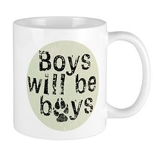 Boys Will Be Boys Mug