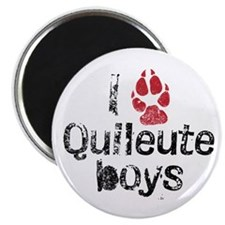 I Paw Quileute Boys Magnet