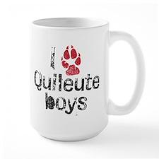 I Paw Quileute Boys Mug