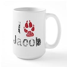 I Paw Jacob Mug