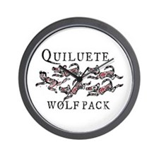 Quileute Sparkler Chaser Wall Clock
