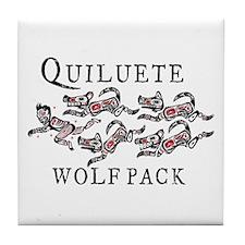Quileute Sparkler Chaser Tile Coaster
