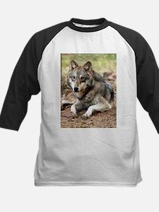 Grey Wolf Kids Baseball Jersey