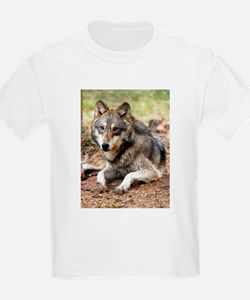 Grey Wolf Kids T-Shirt