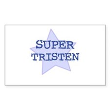 Super Tristen Rectangle Decal