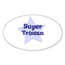 Super Tristan Oval Decal