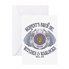 Serpent's Brew Greeting Card