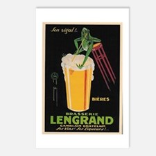 French Frog Beer Ad Postcards (Package of 8)