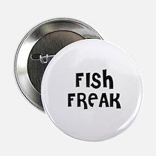 "FISH FREAK 2.25"" Button (10 pack)"