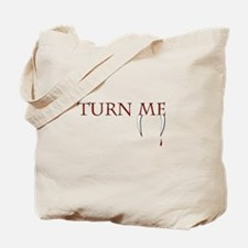 Cute Bite me edward Tote Bag