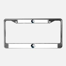 Balanced Earth License Plate Frame