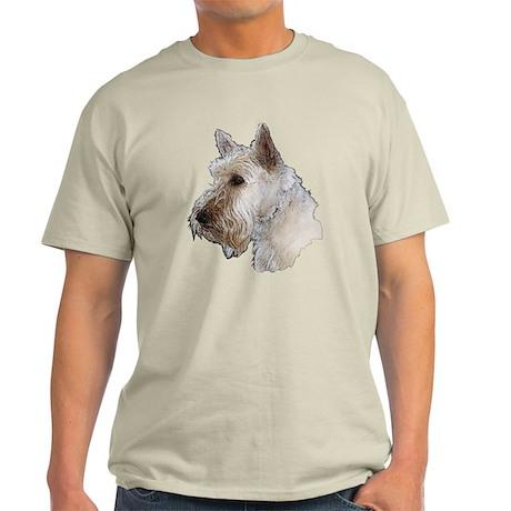 Scottish Terrier (Wheaten) Light T-Shirt