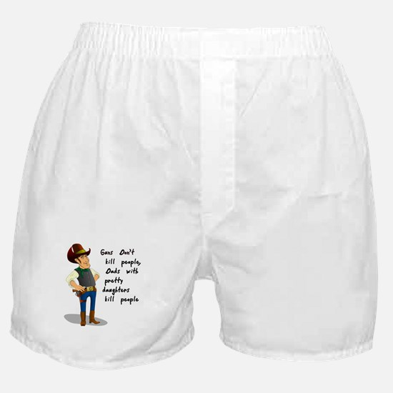 Dad Funny Saying Boxer Shorts