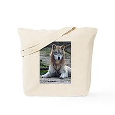Grey Wolf 2 Tote Bag
