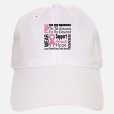 Pink Ribbon Tribute Baseball Baseball Cap