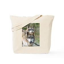 Grey Wolves Tote Bag