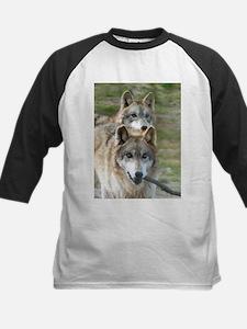 Grey Wolves Kids Baseball Jersey