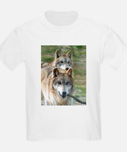 Grey Wolves Kids T-Shirt