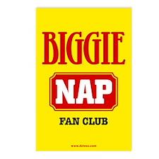 Biggie Nap Postcards (Package of 8)