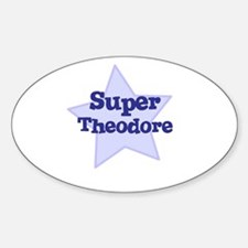 Super Theodore Oval Decal