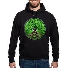 Circle Celtic Tree of Life Hoodie