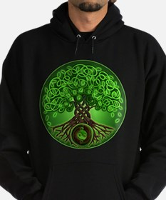 Circle Celtic Tree of Life Hoodie
