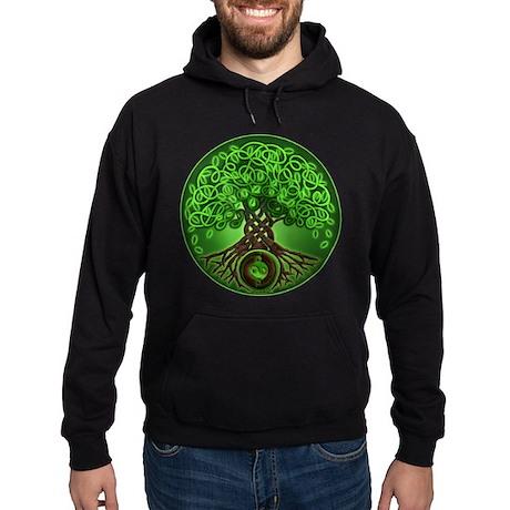 Circle Celtic Tree of Life Hoodie (dark)