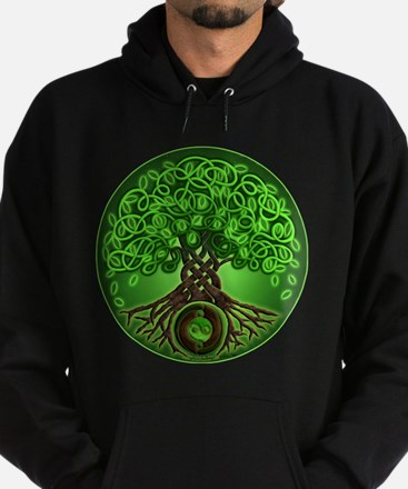 Circle Celtic Tree of Life Hoodie (dark)