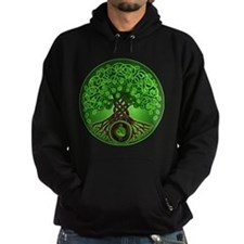 Circle Celtic Tree of Life Hoody