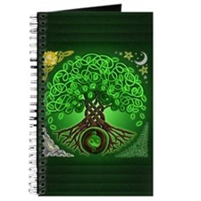 Circle Celtic Tree of Life Journal