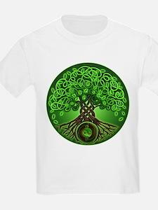 Circle Celtic Tree of Life T-Shirt
