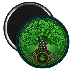 Circle Celtic Tree of Life Magnet
