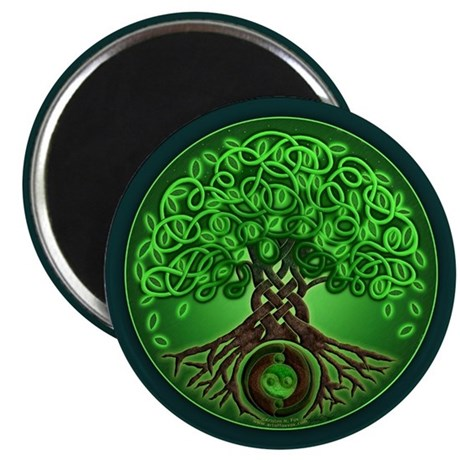 Circle Celtic Tree of Life Magnet