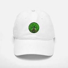 Circle Celtic Tree of Life Baseball Baseball Cap