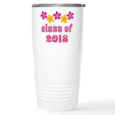 Floral School Class 2018 Travel Mug