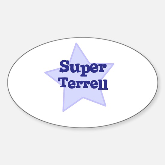 Super Terrell Oval Decal