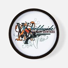 Wolrdwide Demon Hunters Wall Clock